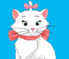Marie -the aristocats by totalrandomness13