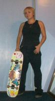 Me an my Board out of cosplay by SoraSkater
