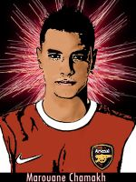 Marouane Chamakh by Enzoide