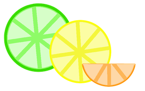 Lemon, Lime, Orange by space-girl19