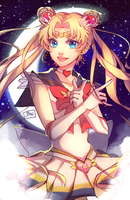 Sailor Moon by PandoraRequiem