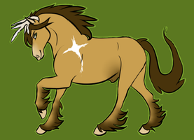 ANOTHER *MatrixPotato's Gypsy Vanner Entry (won) by TechnoWolf9000