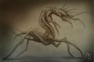 Mutated creature concept, TI by aaronsimscompany