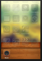 Wooden Dock for iPhone, iPod by Comande