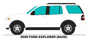 2009 Ford Explorer base by MisterPSYCHOPATH3001