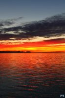 Fall Sunset Series #109 by LifeThroughALens84