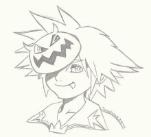 Holloween Sora by Soraclaws