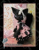 Ebony Scratch the Cat BJD by MisticUnicorn