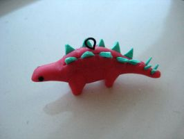 Stegosaurus by clayfriends