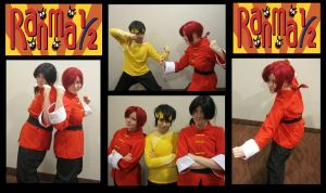 Ranma Half- Final Bout by youmee400