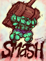 Hulk Smash! by JoeWierenga