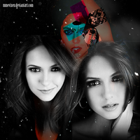 Nina Dobrev Graphic by mmevixen