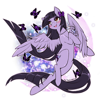 :CM: A Night Butterfly by ChocoberryLollipop