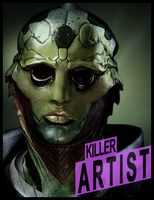 Thane Krios Ad by Incogneto45