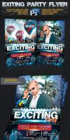 Exciting Night Party Flyer -Psd by squizmo