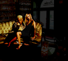 Spuffy in a bar by recurringdelusions
