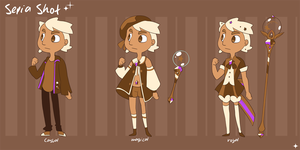 Sepia Shot Character Ref 2 by chicinlicin