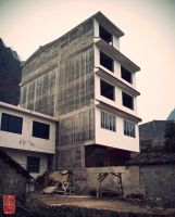 yangshuo architecture by donnosch