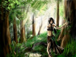 Ellesmera, The Tranquil Glade by Asylilium