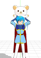 ::MMD:: Marth and Kumajirou :D by JoTehDemonicPickle