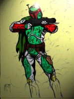 boba fett mandalore-color by UGCcomics