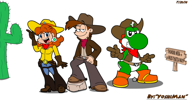 Way Out Westerns by YoshiMan1118