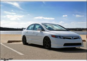 FA5VL Honda Civic SI Sedan 1 by bubzphoto