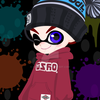 Kyle the Inkling by Xenon2462