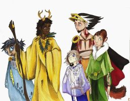 Lords and Ladies by Allison-beriyani