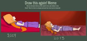 Draw This Again Meme by AbnormalZombie