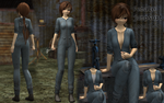 [MMD] Female jumpsuit [download] by Wampa842