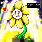 Flowey the Tsundere by BunnyGirl-666