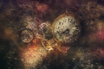 The Time - Artwork by Andriandreo
