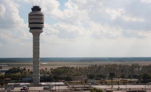 Airport Tower: Orlando international Airport by TomFawls