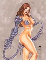 Witchblade commission 44 by Xenomrph