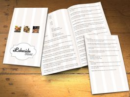 Lakeside Diner Restaurant Menu by dizzyflower28