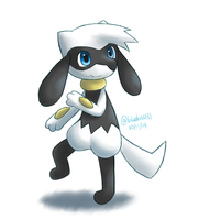 Request: Ezo the Riolu by Bluekiss131
