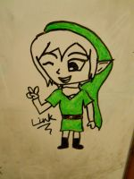 Link drawn w/ Expo markers!! ^^ by Papillon-P
