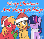 Merry Christmas and Happy Holidays from ADC by NekoCrispy