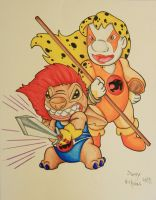 Thundercats Are On The Move! by DannyNicholas