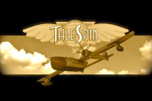 TALESPIN POSTER by PUFFINSTUDIOS