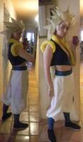 Gotenks Cosplay WIP by morisa9
