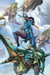 AVATAR comic book art by J-Scott-Campbell