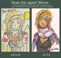 Draw me again meme by Chiakixs