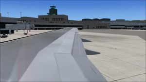 Leaving the Gate at San Fransisco Int'l by Dj-Equestrian-LP-Fan