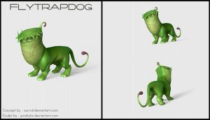 Flytrapdog 3D by poahyho