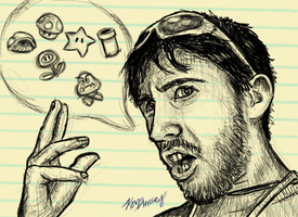 A Sketchy Perspective of Christian Kalczewski by KevinMassey