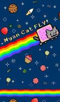 Nyan Cat- notebook cover by VICTOR2012
