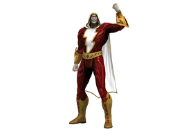 Injustice Shazam by dirtscan
