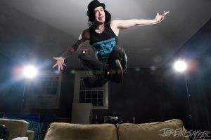 Craig Mabbitt Can Fly by JeremySaffer